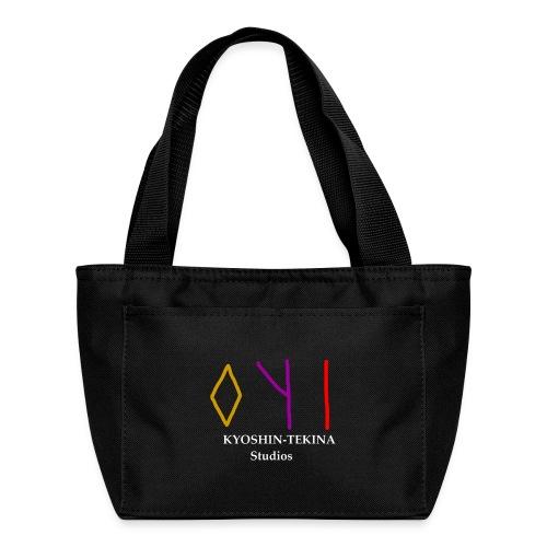Kyoshin-Tekina Studios logo (white text) - Lunch Bag
