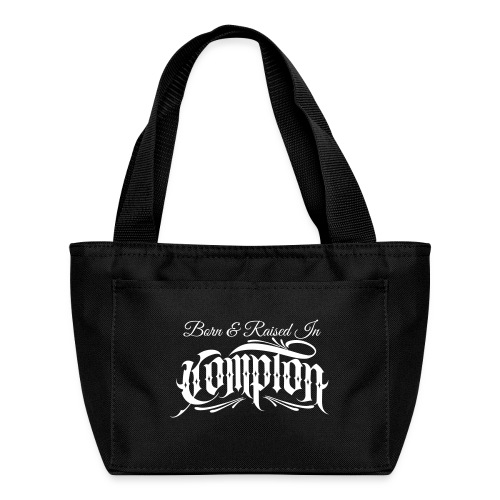 born and raised in Compton - Lunch Bag