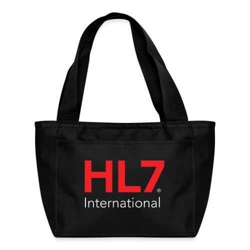 HL7 International Logo - Reverse - Lunch Bag