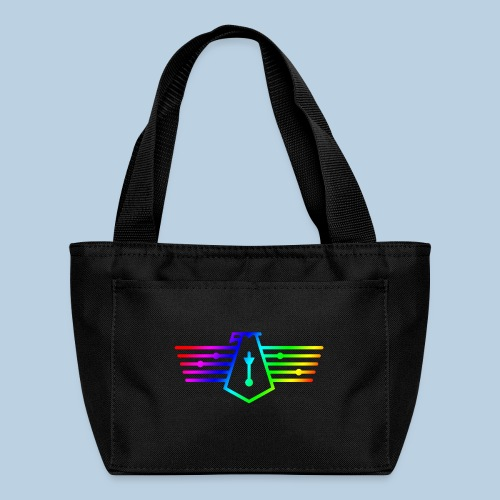 Westport Bird Rainbow on transparent - Lunch Bag