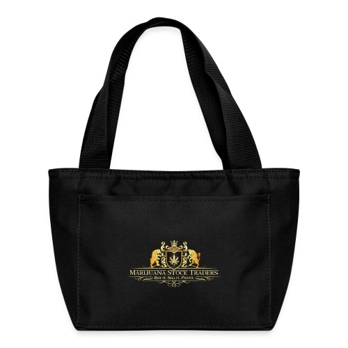 Original MST Marijuana Stock Traders Logo - Lunch Bag
