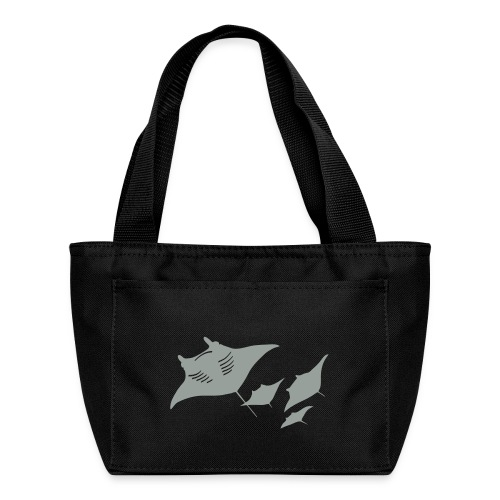 manta ray sting scuba diving diver dive - Lunch Bag