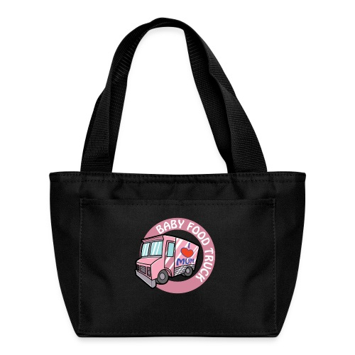 Pink baby food truck - Lunch Bag