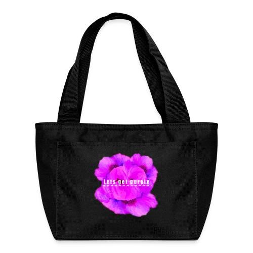 lets_get_purple_2 - Lunch Bag