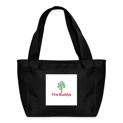 Fire Buddys Website Logo White Tee-shirt eco - Lunch Bag