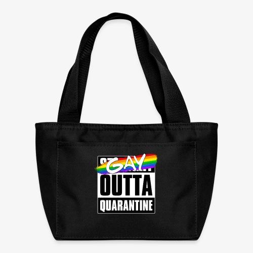 Gay Outta Quarantine - LGBTQ Pride - Lunch Bag