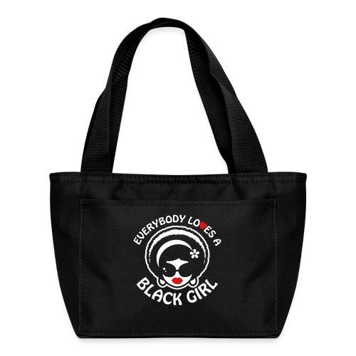 Everybody Loves A Black Girl - Version 1 Reverse - Lunch Bag