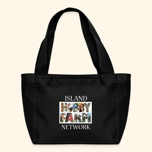 Island Hobby Farm White Logo - Lunch Bag