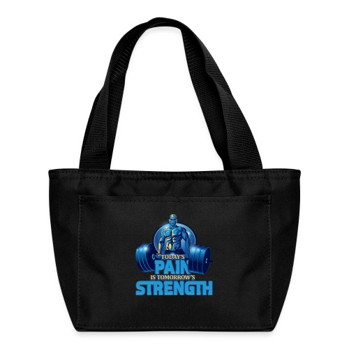Heavy Lifting Man - Lunch Bag