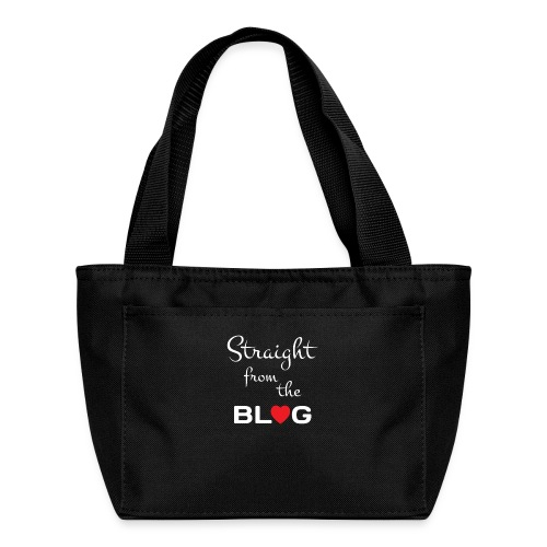 STRAIGHT FROM THE BLOG [FUN BLOGGER SHIRT] - Lunch Bag