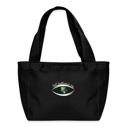 Self Sufficient Me Logo Large - Lunch Bag