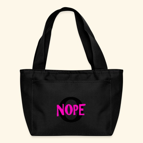 nope to O - Lunch Bag