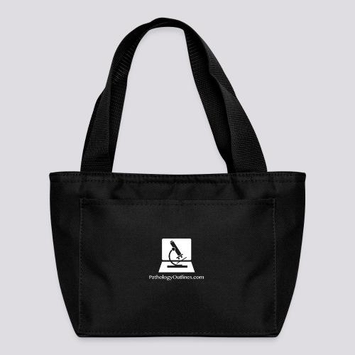 Pathology Outlines Square Logo - Lunch Bag