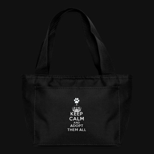 KEEP CALM white - Lunch Bag