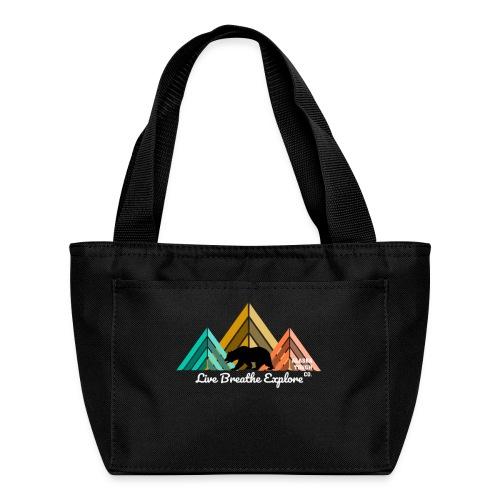 Live Breathe Explore Bear - Lunch Bag