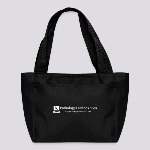 Pathology Outlines Full Logo - Lunch Bag