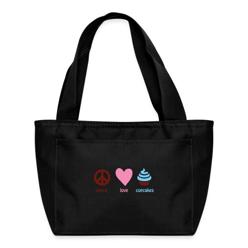 peacelovecupcakes pixel - Lunch Bag