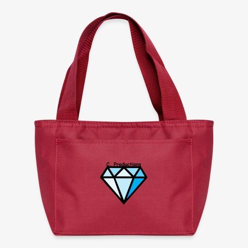 C. Productions Diamond Logo - Lunch Bag