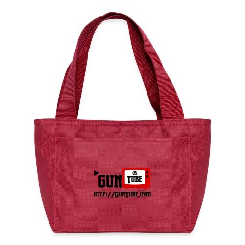 GunTube Shirt with URL - Lunch Bag