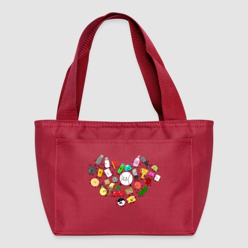 Inanimate Heart Color - Lunch Bag