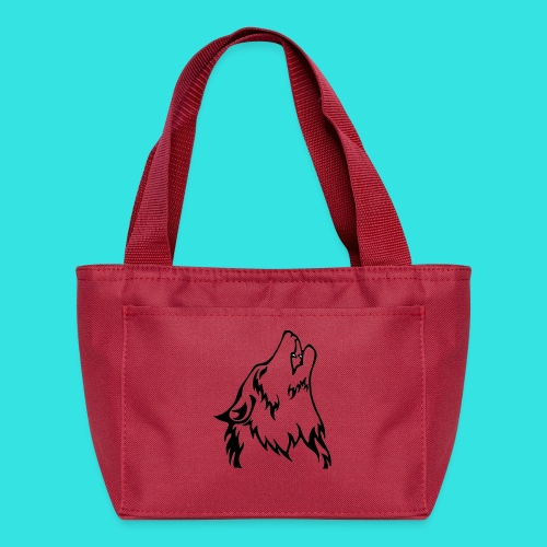 Wolf (back) - Lunch Bag