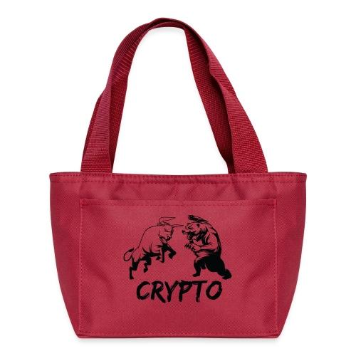 CryptoBattle Black - Lunch Box