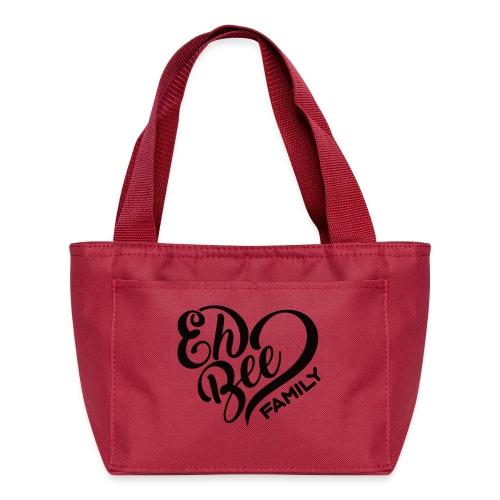EhBeeBlackLRG - Lunch Bag