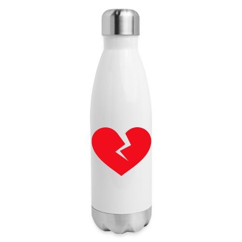 Broken Heart - Insulated Stainless Steel Water Bottle