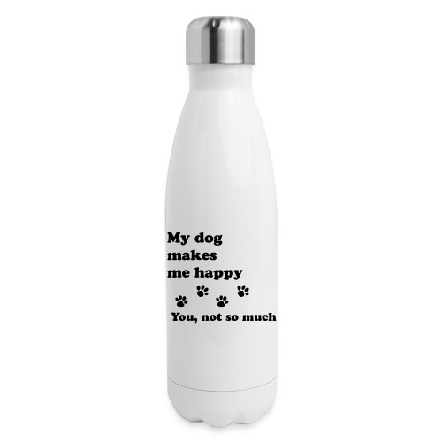 love dog 2 - Insulated Stainless Steel Water Bottle