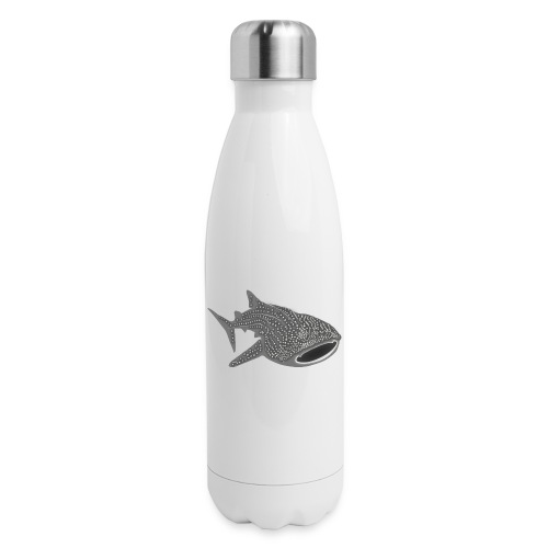 save the whale shark sharks fish dive diver diving - Insulated Stainless Steel Water Bottle