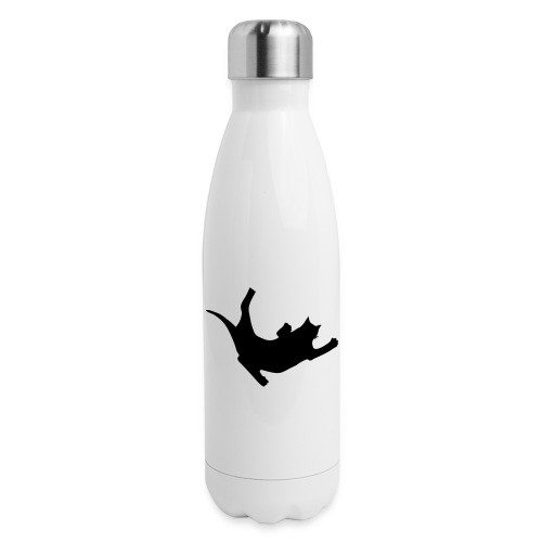 Fly Cat - Insulated Stainless Steel Water Bottle