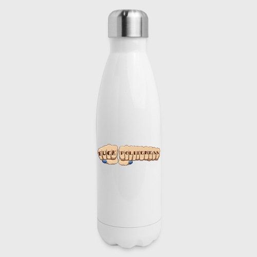 My Favorite Murder Fuck Politeness MFM - Insulated Stainless Steel Water Bottle