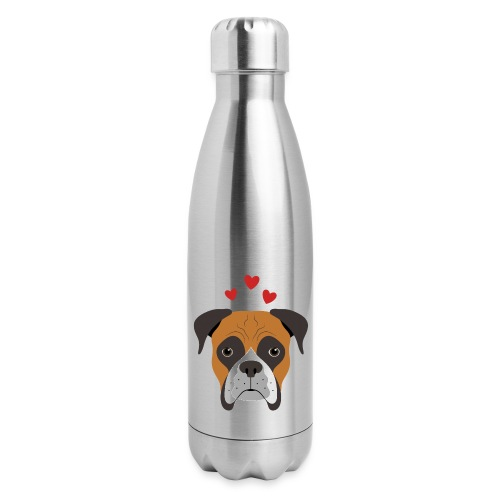 Boxer Love - Insulated Stainless Steel Water Bottle