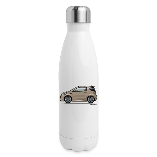 AM Cygnet Blonde Metallic Micro Car - Insulated Stainless Steel Water Bottle