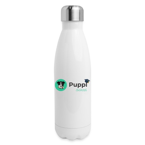 Puppl School - Full - Version 1 - Insulated Stainless Steel Water Bottle