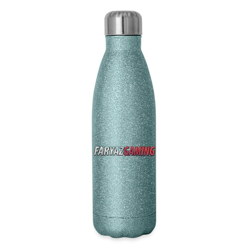 FaryazGaming Text - Insulated Stainless Steel Water Bottle