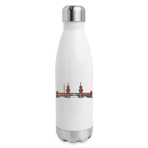 Oberbaum Bridge Berlin - Insulated Stainless Steel Water Bottle