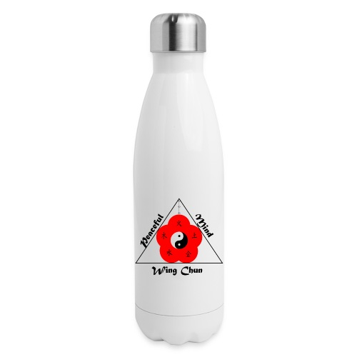 Peaceful Mind Vector - Insulated Stainless Steel Water Bottle