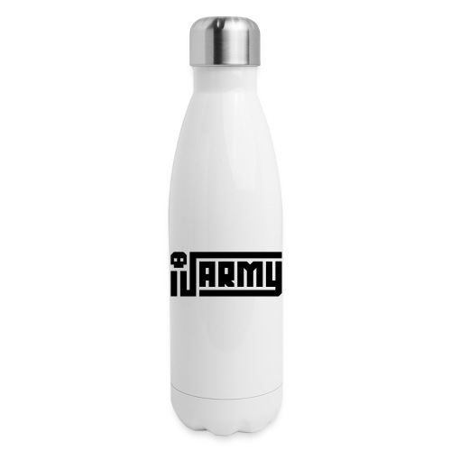 iJustine - iJ Army Logo - Insulated Stainless Steel Water Bottle
