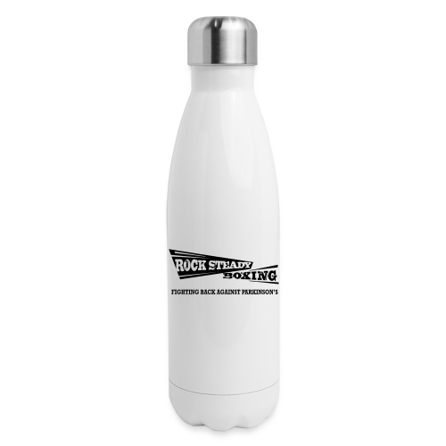 I Am Rock Steady T shirt - Insulated Stainless Steel Water Bottle