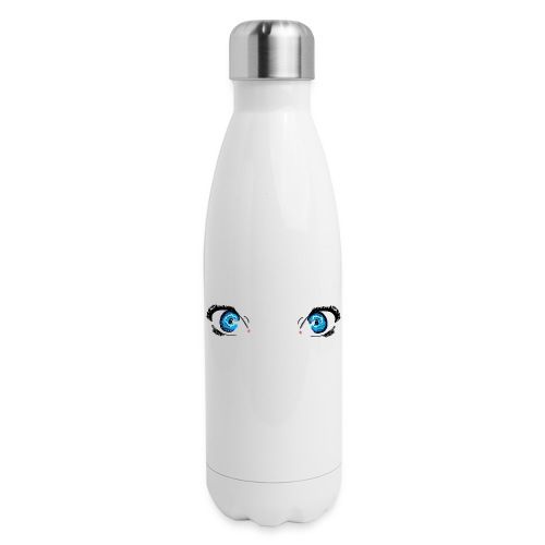 Glacier Blue Eyes - Insulated Stainless Steel Water Bottle