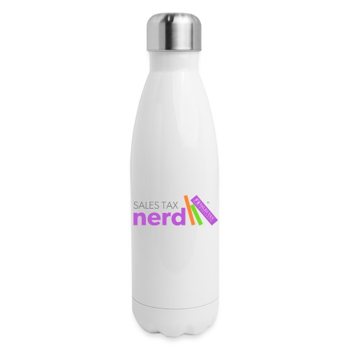 Sales Tax Nerd - Insulated Stainless Steel Water Bottle