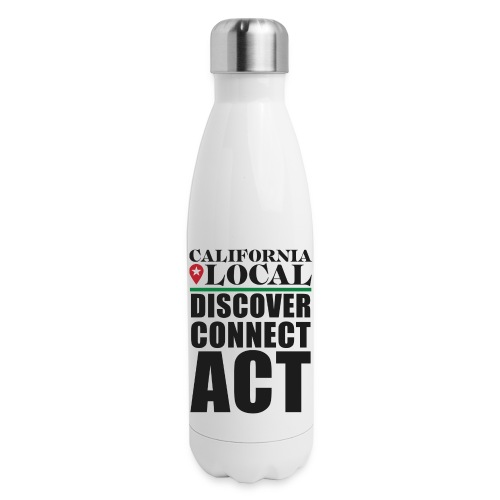 California Locals Make it Better - Insulated Stainless Steel Water Bottle