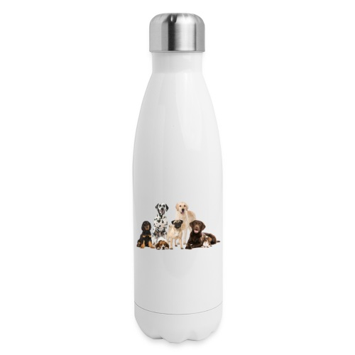 German shepherd puppy dog breed dog - Insulated Stainless Steel Water Bottle