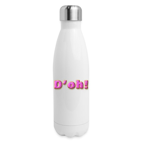 Homer Simpson D'oh! - Insulated Stainless Steel Water Bottle