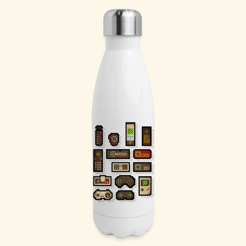 pixelcontrol - Insulated Stainless Steel Water Bottle