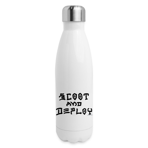 Scoot and Deploy - Insulated Stainless Steel Water Bottle