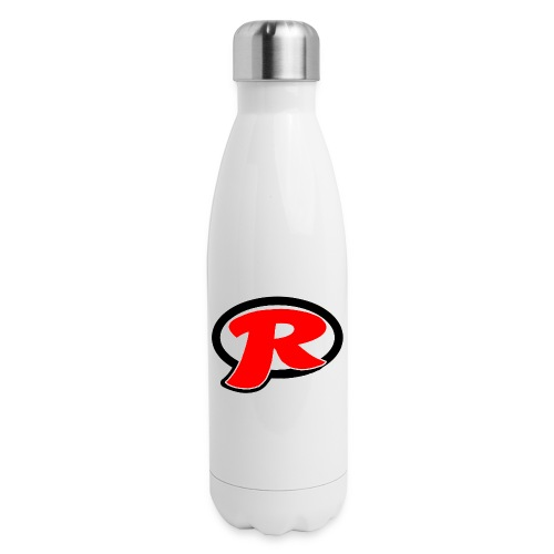 Reviewy McReviewface Logo - Insulated Stainless Steel Water Bottle
