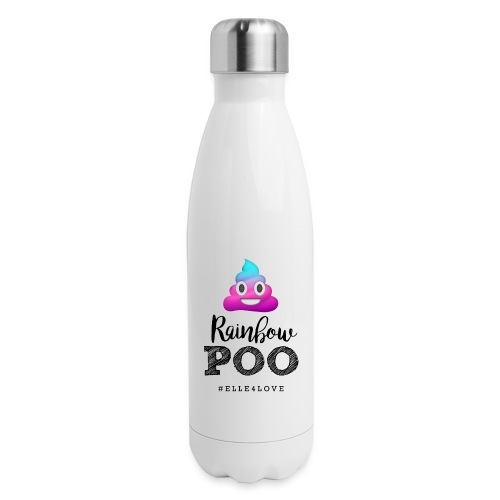Rainbow Poo - Insulated Stainless Steel Water Bottle