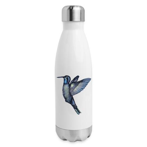 Hummingbird in flight - Insulated Stainless Steel Water Bottle